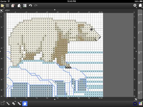 Knitting Pattern Design Software : Stitchsketch for cross stitch knitting pattern pixel