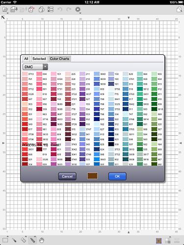 Kg Chart Stitchsketch Blog Ikuta Software Design Studio