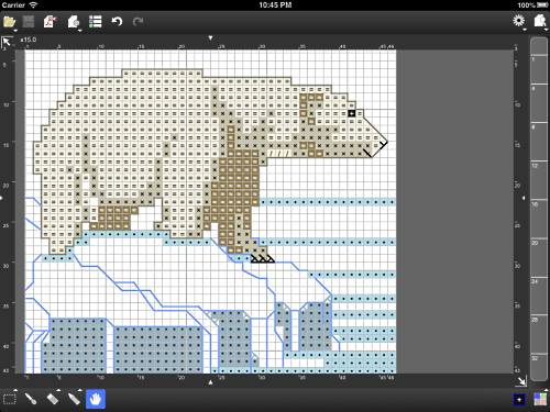 StitchSketch for Cross Stitch / Knitting Pattern / Pixel ...